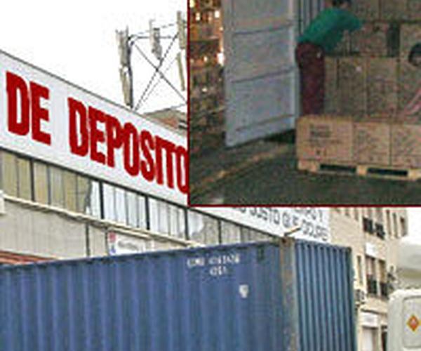 Manipulado de contenedores