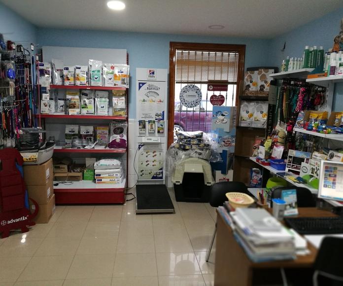 Tienda de alimentación y complementos: Especialidades de Clínica Veterinaria San Marcos
