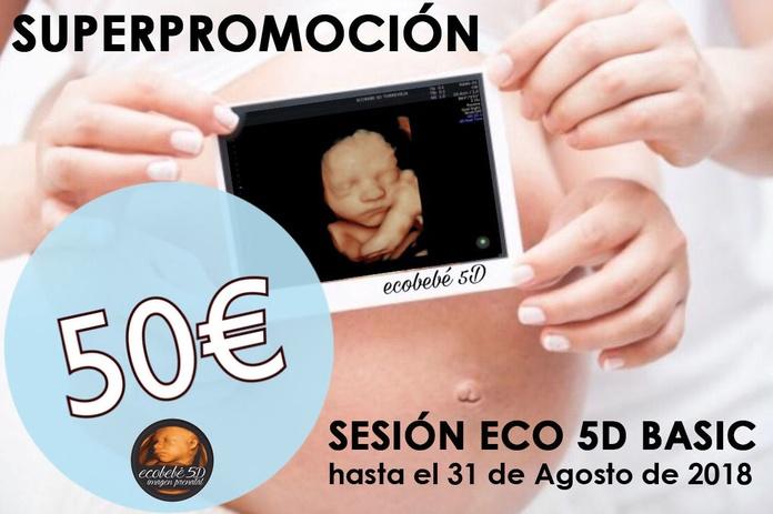 20 ECOGRAFÍAS 5D BASIC POR SOLO 50€