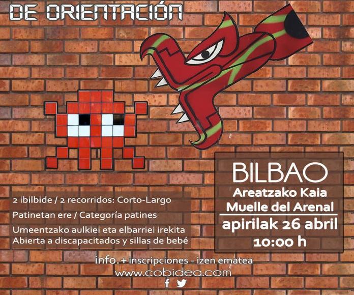 RESULTADOS: VI Prueba Urbana de Orientación de Bilbao, octava prueba del II Circuito Popular - COBI