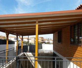 Trabajos con carpintería de aluminio en Granada