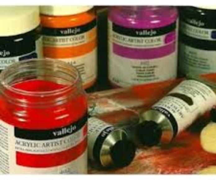 acrilico artist vallejo: Catálogo bellas artes de Artyman Madrid