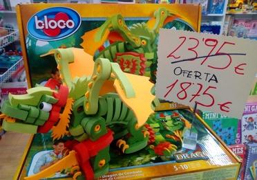 Construye un dragón en 3D, y ahora de oferta. AGOTADO