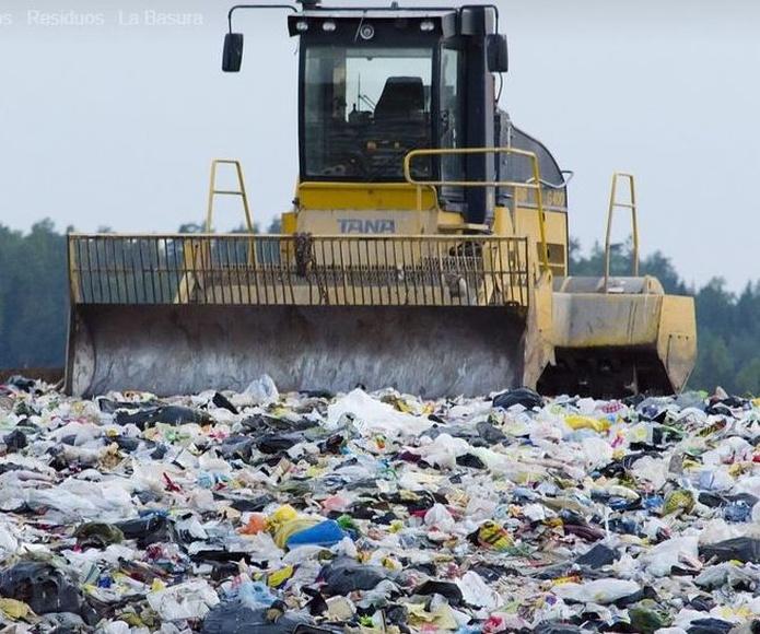 Transporte de contenedores de residuos