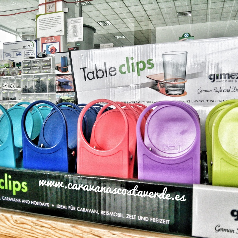 Pinzas Table Clips Gimex