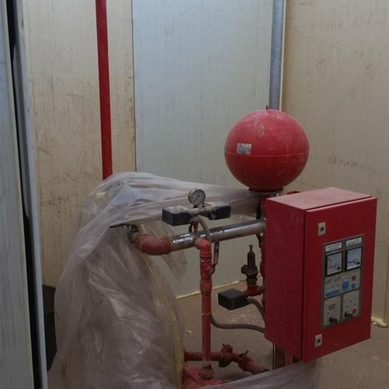 Instalaciones contra incendios: Servicios/Venta de equipos de Instalaciones Alba