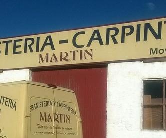 Arcas: Servicios de Ebanistería y Carpintería Martín