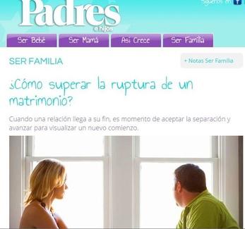Nueva publicación en Padres e Hijos: Cómo superar la ruptura de un matrimonio