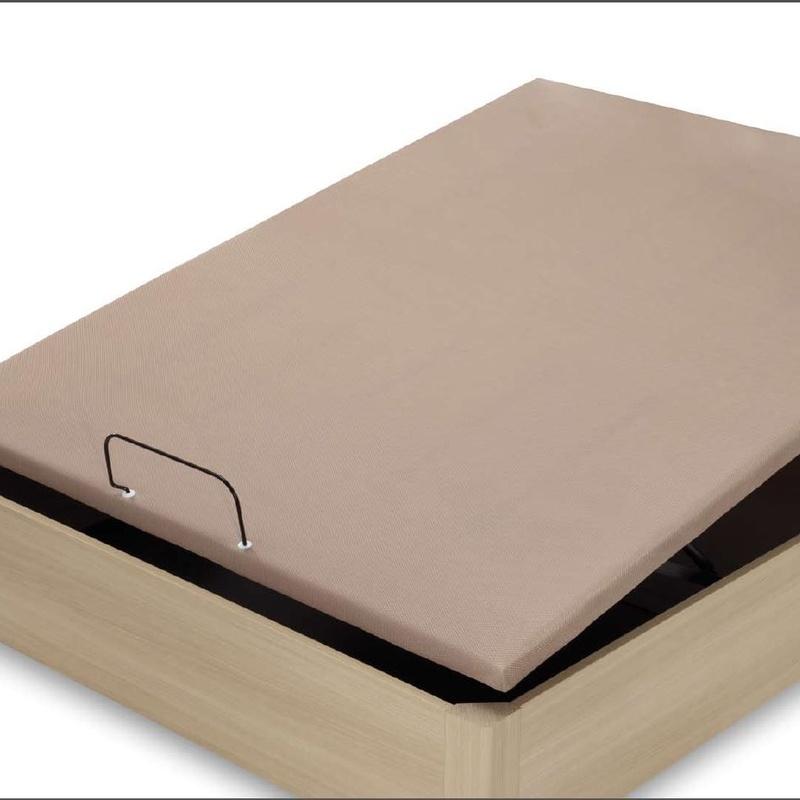 Somieres, bases, canapés y cabezales: Muebles y colchones de Muebles Chamizo
