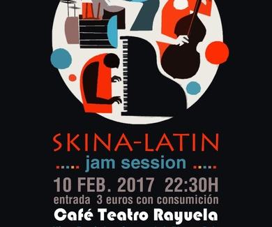 SKINA-LATIN en CAFÉ TEATRO RAYUELA