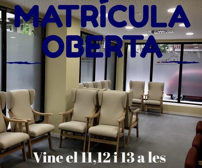 Matricula oberta comencem el 15 de Maig