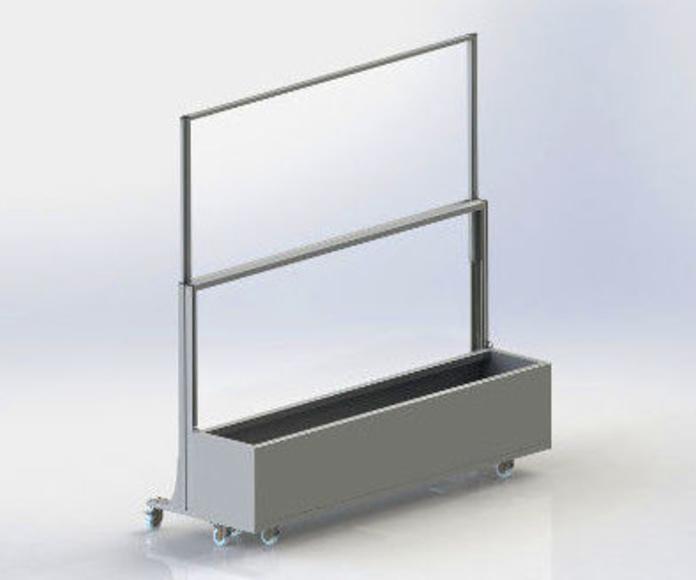 Mamparas para terrazas: Productos de Doble-A