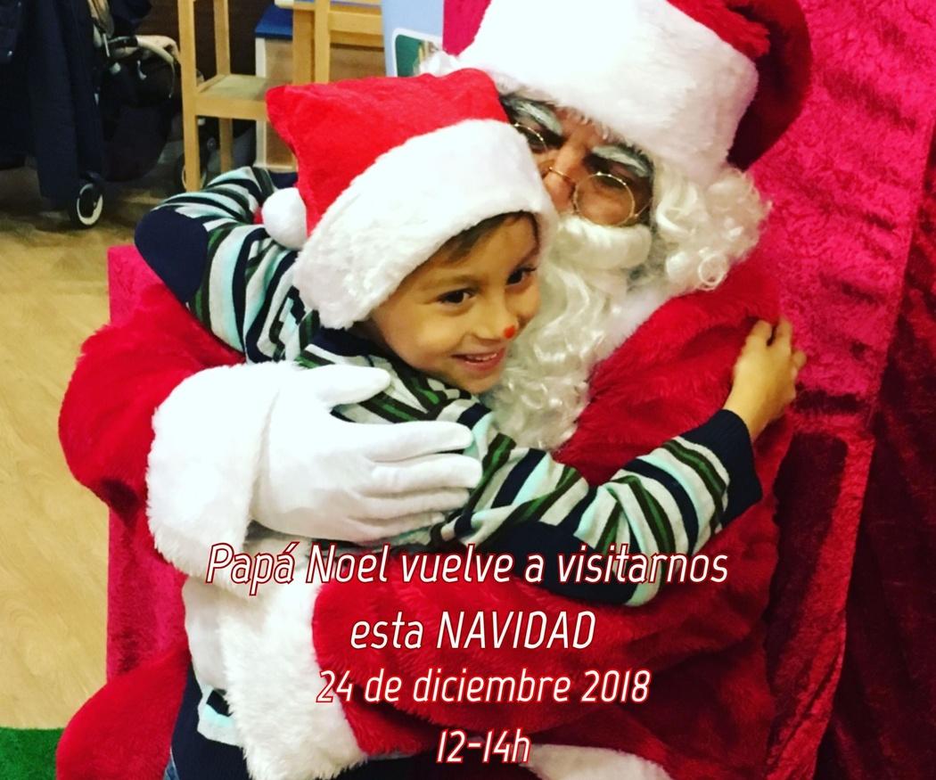 Papá Noel nos visita 24 dic 12-14h