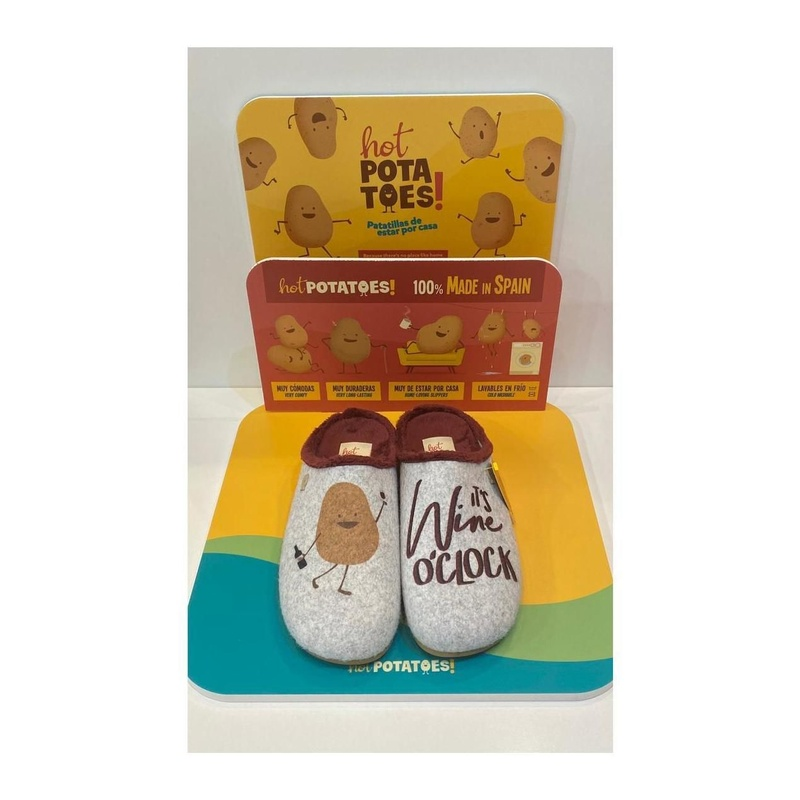 Espardenyas d'home, de la marca Hot Potatoes: Catálogo de Calçats Llinàs