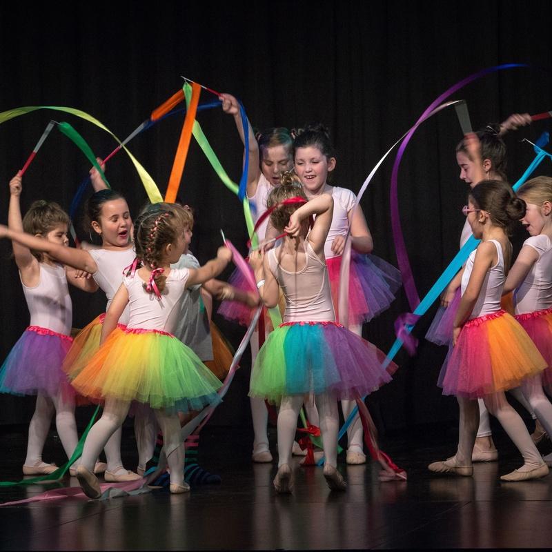 Ballet y moderno infantil