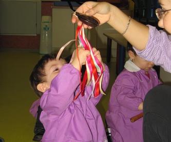 RELACION CON LAS FAMILIAS: Servicios de Centro de Educacion Infantil El Parque
