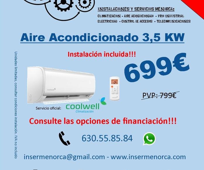 Ofertas aire acondicionado Menorca