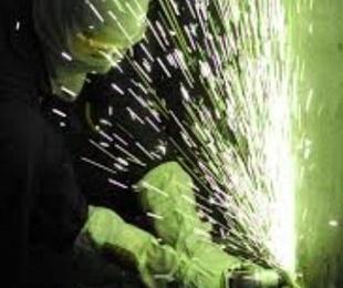 Trabajos de soldadura industrial