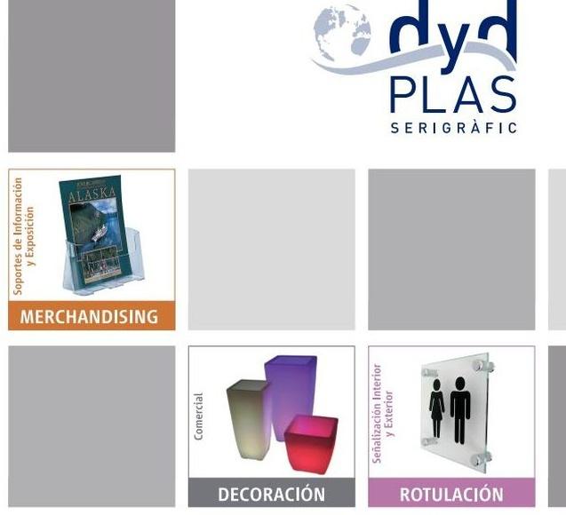 Publicidad para equipamientos y comunicación visual