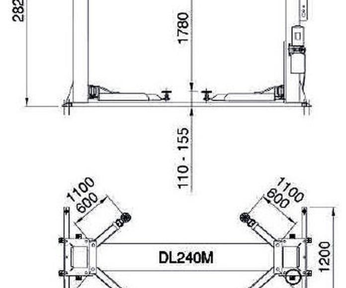 medidas dl240 m