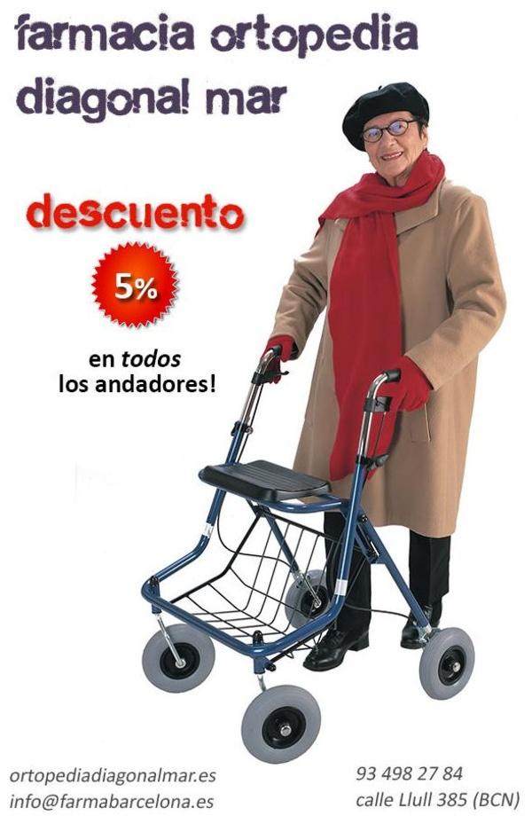 Oferta andadores baratos en Barcelona