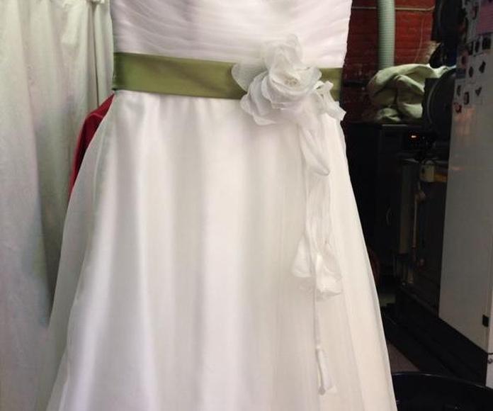 Transformar vestido de novia en vestido de fiesta Barcelona
