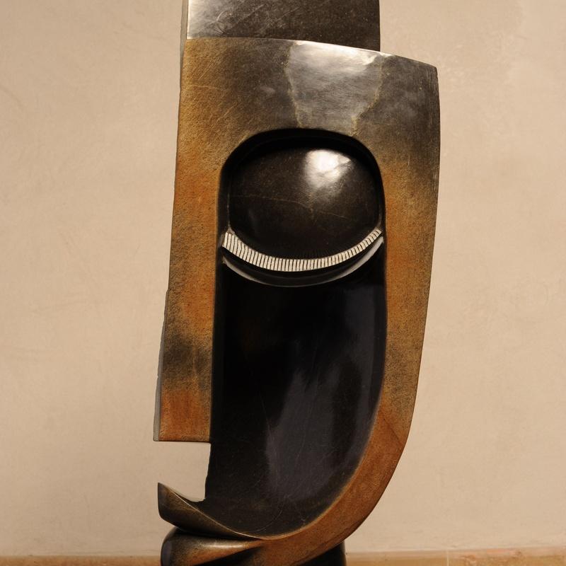 Totem (side), 115 x 55 cm, Amos Supuni