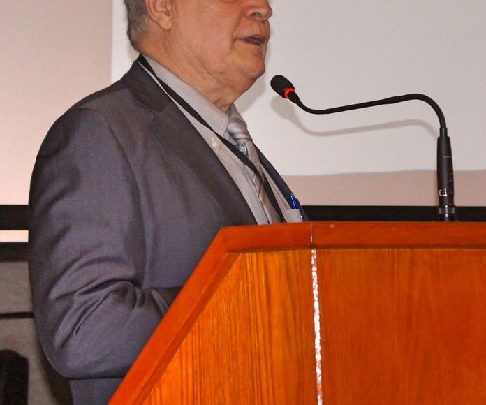 Dr. Pablo García Medina. Catedrático de la Universidad de Psicología