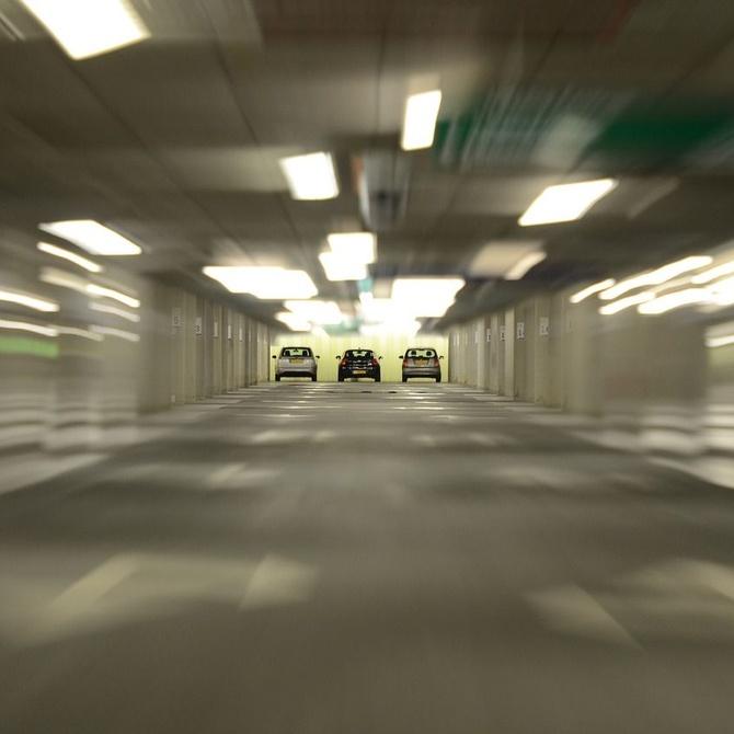 Zonas de los garajes en las que se acumula más suciedad
