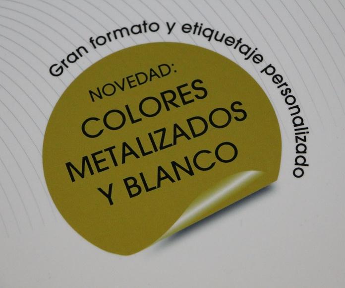 impresión metalizados Barcelona