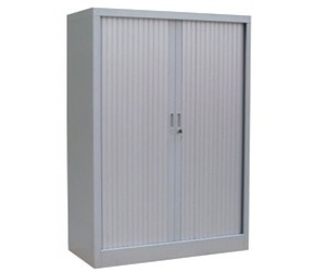 Armarios metálicos con puertas persiana
