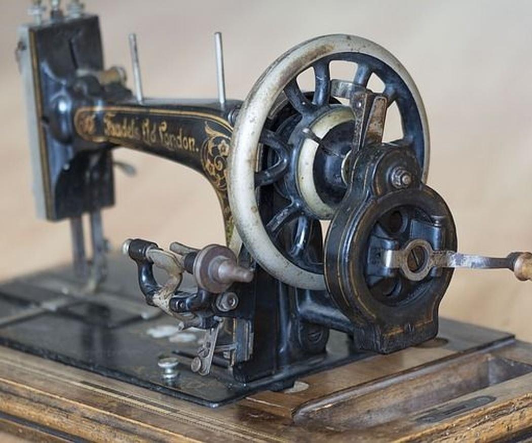 Pasado y presente de las máquinas de coser
