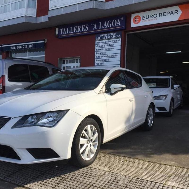 Seat Leon 1.6TDI  Reference-Ecomotive 110CV:  de Ocasión A Lagoa
