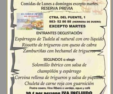 Jornadas gastronómicas Esparrago Tudelano