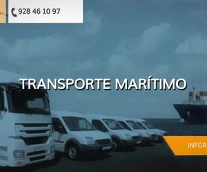 Transportes internacionales de mercancías Las Palmas