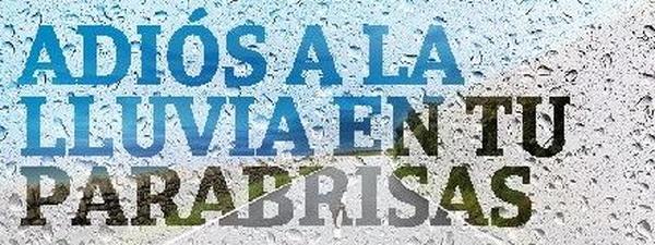 REPELENTE DE AGUA DE LLUVIA PARA PARABRISAS Y CRISTALES DEL COCHE: Servicios de Taller Peñarrubia