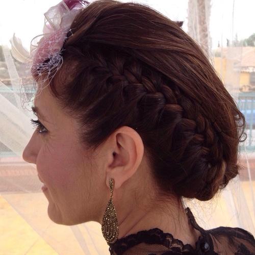 Peinado fiesta en Murcia