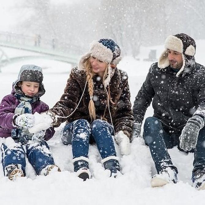 Capas de ropa para protegernos del frío en invierno