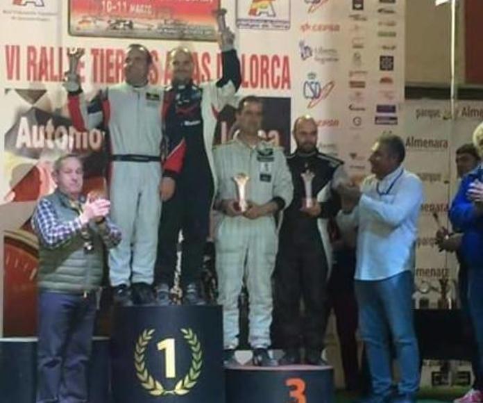 EXPOMAT, PRESENTE EN EL RALLYE TIERRAS ALTAS DE LORCA
