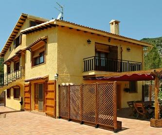 Habitaciones: Casa rural de La Ginesta Rural
