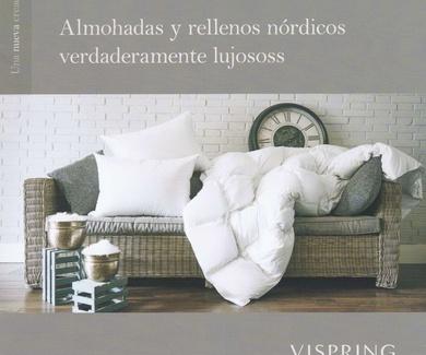 Almohadas y rellenos nórdicos Vispring
