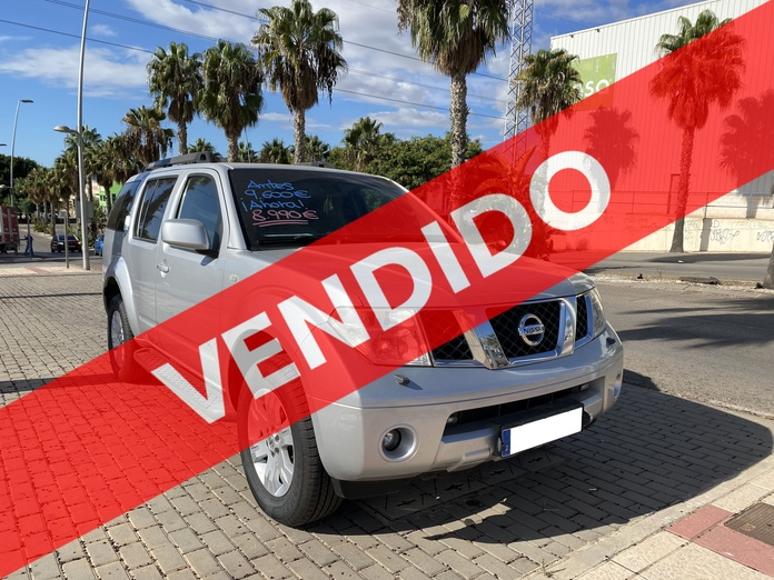 NISSAN PATHFINDER: COCHES DE OCASION de Automóviles Mediterráneo