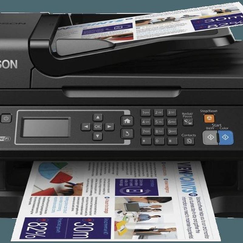 promoción impresora 4 en 1 , imprime, escanea, copia y fax con wifi direct