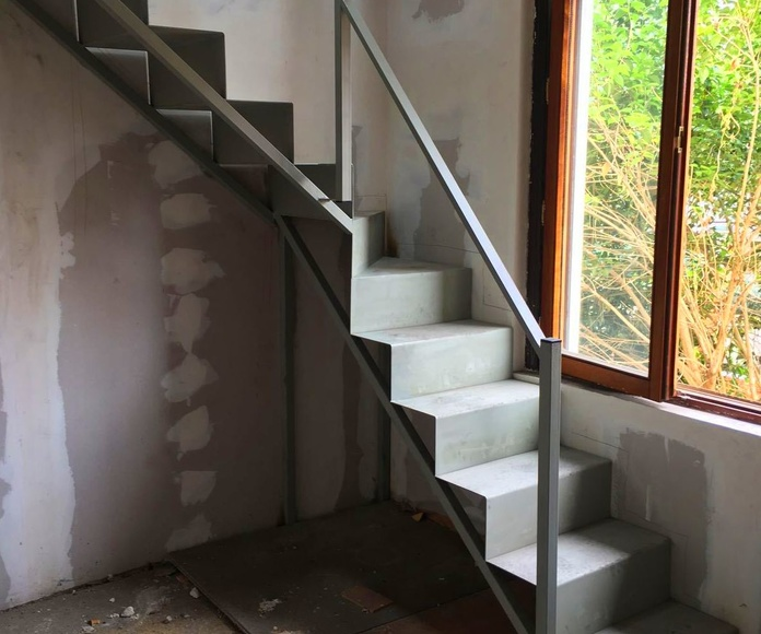 Escaleras metálicas: Productos de Burdinsa Hierros