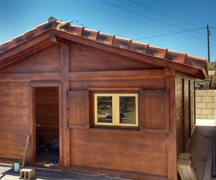 Cabaña de Madera 40 m2 2 habitaciones