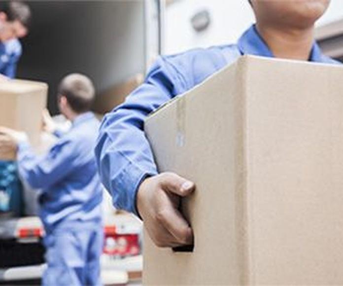 Mudanzas de empresas: Servicios de Mudanzas Mudarse