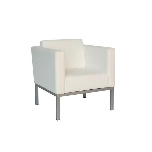 Sillón monoplaza blanco.: Alquiler de mobiliario de Stuhl Ibérica Alquiler de Mobiliario