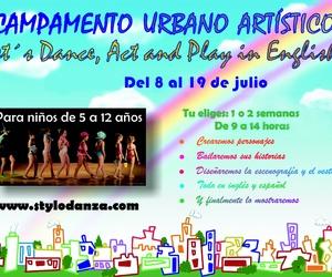 Campamento Urbano Artístico Julio 2019