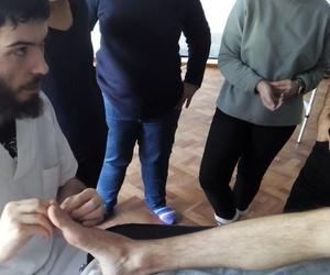 Clase Quiromasaje Avanzado : Musculatura de los dedos del pie