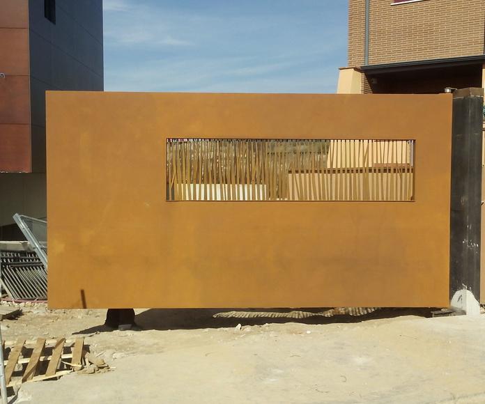 Acero Corten: Productos y servicios de Metálicas Torca